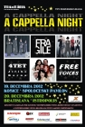 Jedinečný koncert A Capella Night s Jiřím Kornom, Fragile a Free Voices